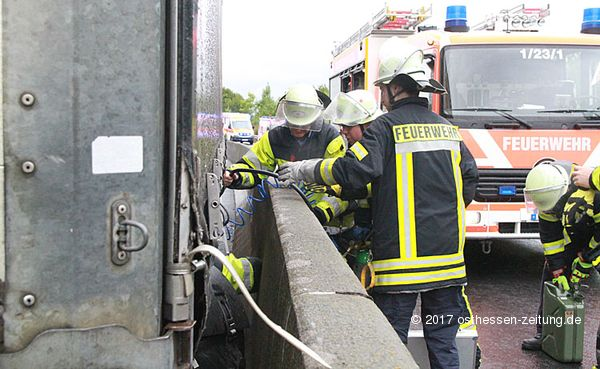 B27 Unfall Aktuell